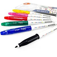 Pilot Frixion Colors Erasable Marker Pens - Wallet of 6 Assorted Colours