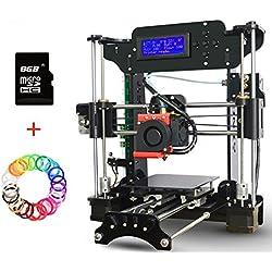 3D Drucker Bausatz, DIY 3D Drucker Zubehör Dohe Genauigkeit MK10 Düse LCD - Bildschirm DIY Selbstaufbau 3D Drucker Prusa Unterstützt SD Karte Und Off - line Druck (XY-100)