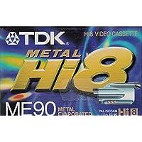 TDK E 5-90 ME Hi 8 Super Qualität