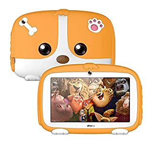 UseMost Binai A9 Quad Core 512M RAM 8G ROM Android 5.1 7 Inch Kids Tablet Orange   3