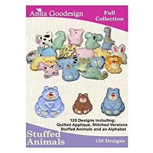 Anita goodesign broderie Designs CD Animaux en peluche