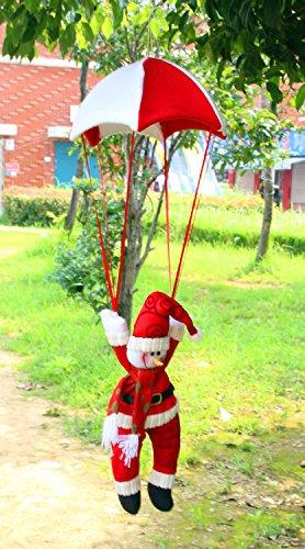 Schneemann In Fallschirm Weihnachtsbaum Hanging Ornament Weihnachtsdekoration Weiß 2 Stk (Baby-jack Skellington)
