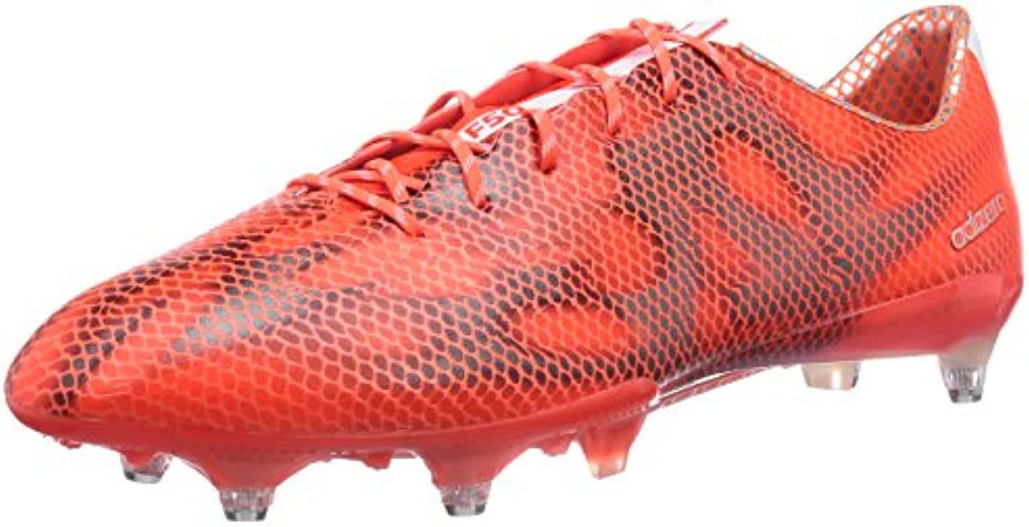adidas f50 adizero   chaussures sg de foot sg chaussures rouge - taille: 7,5 bb1ac8