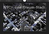 NYC - eine Traum-Stadt (Wandkalender 2019 DIN A4 quer): Eine Bilderserie über New-York-City, in welcher Schwarz-Weiss-Aufnahmen mit ... (Monatskalender, 14 Seiten ) (CALVENDO Orte)