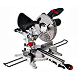 """Dirty Pro Tools™ Mitre Saw 250mm 10"""" Powerful 1800W Motor Sliding Compound Saw"""