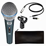 Meya Happy Beta 58A Pofessional Singing Mic Studio Voice Recording Karaoke Microphone With 3.5mm Jack (With Wire)