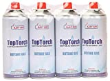 #10: Top Torch Butane Fuel Gas Can, 225 g (Pack of 4)