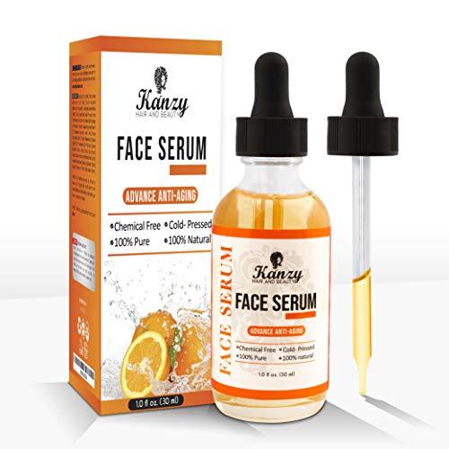 Siero viso con vitamina c e 20% acido ialuronico puro - per una pelle sana giovane. (30ml)