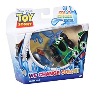 Toy Story Colour Splash Buddies 2 Pack - RC and Shark