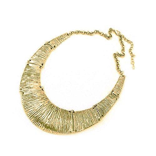 Signore-Signori Kostüm Erklärung Schmuck, Gold-Metall-Halskette Costum Schmuck für Frauen (Für Costums Frauen)