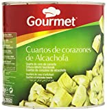 Gourmet - Cuartos de corazones de alcachofa - 1550 g