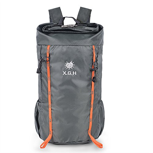 Vbiger 20L Rucksack Leichte Rucksack Nylon Outdoor Rucksack Faltbare Sportrucksack für Damen und Herren