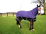 GEE TAC 350G*1200D HEAVY DUTY TURNOUT COMBO HORSE RUG 6.3 ALL SIZES, EQUESTRIAN