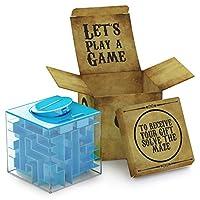 Il regalo è metà del divertimento Denaro e shopping card non saranno più regali banali grazie a questo pacco regalo 3D. Abbandona la vecchia busta e rendi il tuo regalo una spinta a risolvere il puzzle. Sicuro per i bambini Questo puzzle può ...