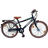 Delta Bike 24 Zoll Cityfahrrad 3 Gang Shimano Nabenschaltung Rücktritt Nabendynamo LED STVO