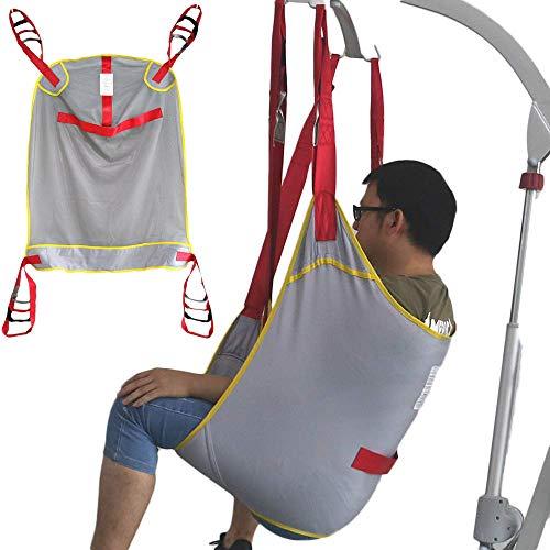 51ho8LAajxL - ZIHAOH Paciente Sling, Cabestrillo De Elevación De Paciente De Cuerpo Completo,cinturón De Transferencia De Elevación para Personas Mayores Discapacitados, 507lb Capacidad De Peso,A