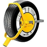 FIXKIT Radkralle Parkkralle Reifenkralle Wegfahrsperre DIEBSTAHLSICHERUNG Radsicherung, PKW, Auto, Anhängersicherung (ModellⅠ)