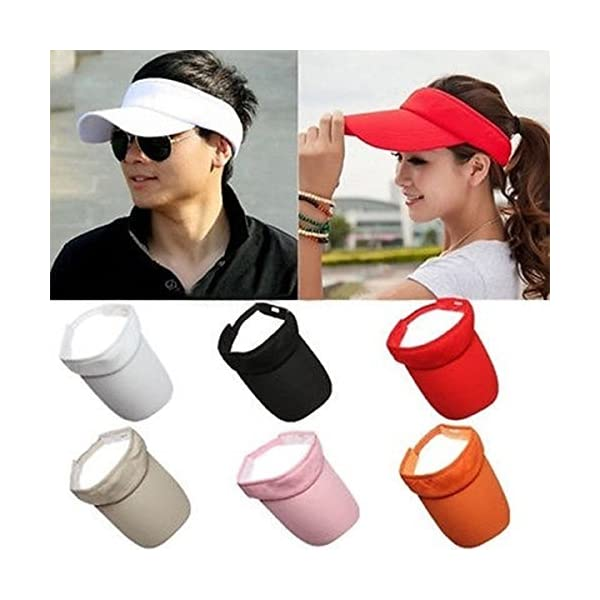 Latinaric Tennis Visor Baseball Hat Cap Men And Women Golf Sports Sun Visor  Outdoors. Sale! 🔍. On Sale. £13.98 ... 9c3408975bb0