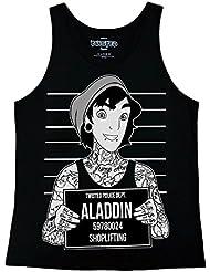 Aladdin Mugshot Ladies Vest Top
