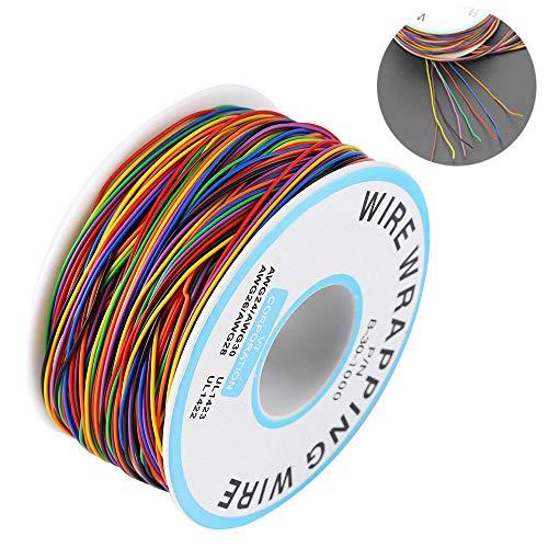 Colorato wire wrapping,Cavo Avvolgente di Isolamento,P/N B-30-1000 8-Wire Cavo Solido in Rame Stagnato Cavo di Prova Colorato