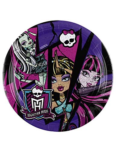 Amscan International 23 cm NEU Monster High Teller