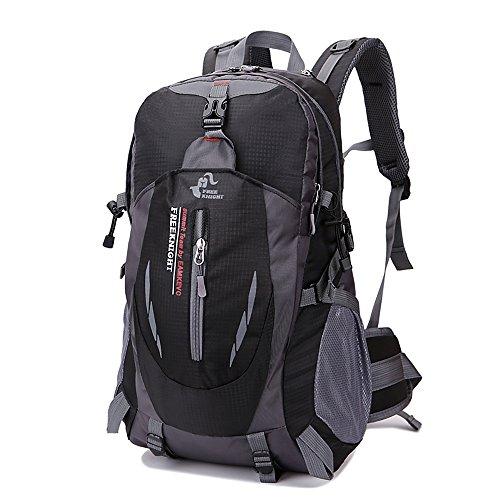 Lixada 40L wasserdichter Wander Camping Rucksack Outdoor Sport Reise Laptop Daypack für Männer Frauen. (40l Wander-rucksack, Wasserdichte)