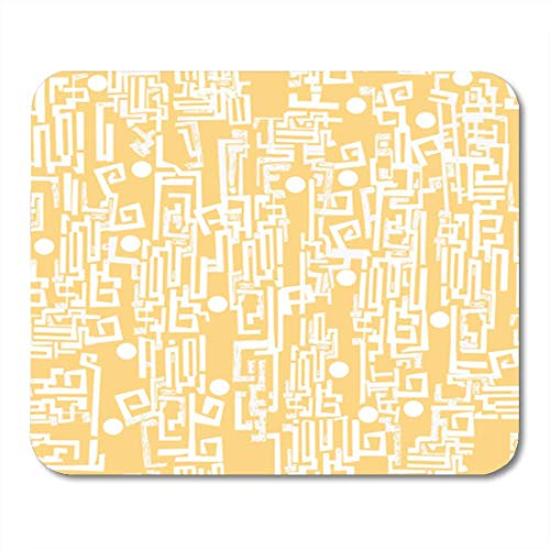 HOTNING Gaming Mauspads Gaming Mouse Pad Abstract Assorted Vegetables and Iron Grill Component Conception Connect 11.8