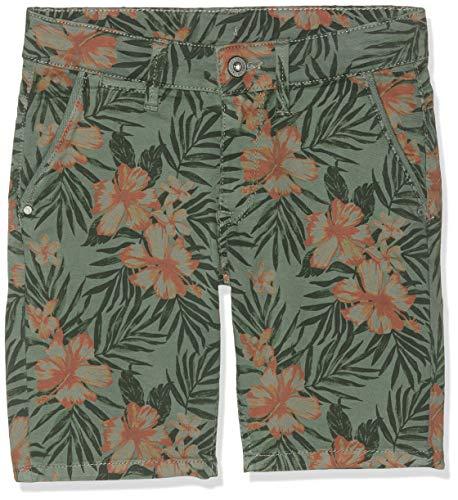 Pepe jeans blueburn short floret pantaloncini da bagno, verde (casting 674), 3 anni (taglia produttore: 3) bambino