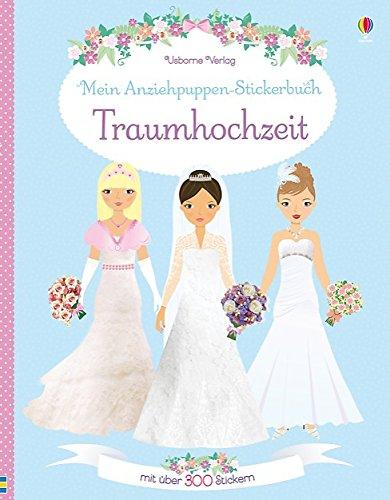 Mein Anziehpuppen-Stickerbuch: Traumhochzeit - Puppen Fünf Für Jahr Alt