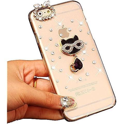 Sunroyal® Ultra Sottile Bling Duro Back Custodia per Apple iphone 6 plus / 6S plus 5.5