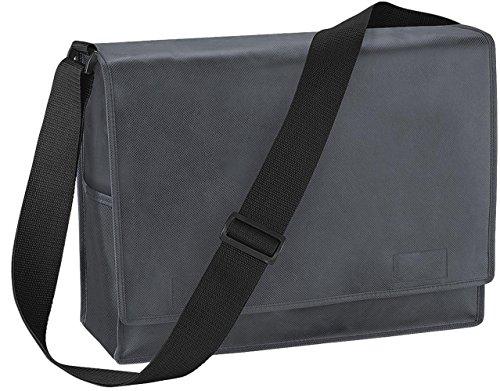 Bagbase bilancio Promo Despatch Borsa PU elegante ufficio e viaggio spalla borsa Graphite Taglia unica