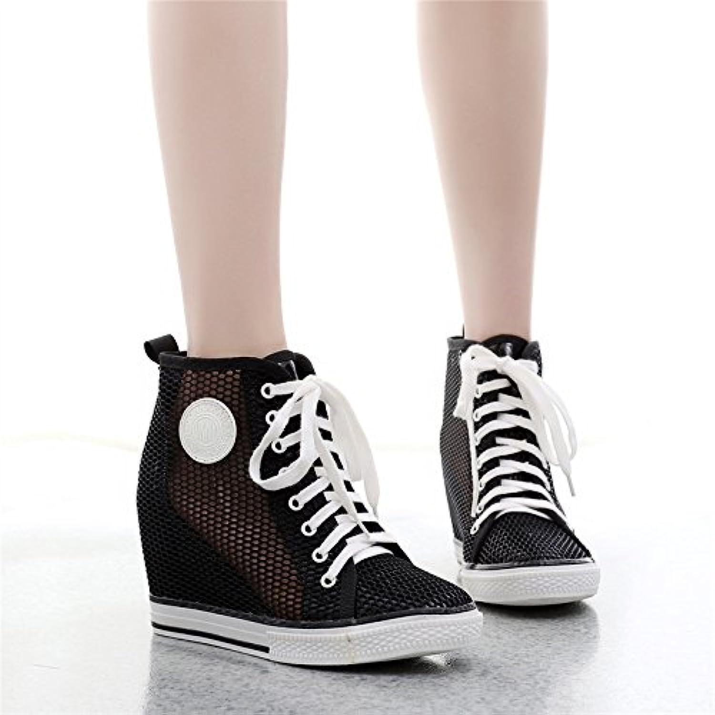 GTVERNH-nel profondo cravatta scarpe estate 8cm jacobs respirabile maggiore le scarpe 39 nero | Moda  | Uomo/Donne Scarpa