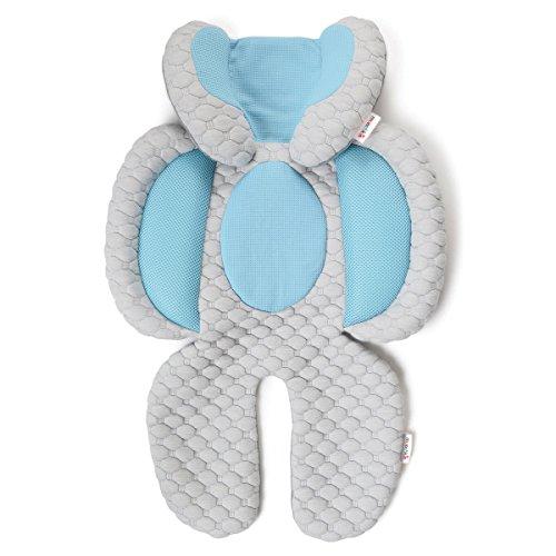 Munchkin Cool Cuddle Kuschel Kopf- und Körperstütze, Sitzverkleinerer
