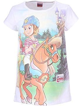 Mädchen Prinzessin Emmy Shirt, weiß