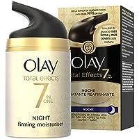 Olay Total Effects 7 en 1, Crema nocturna facial (anti-edad, SPF20, piel seca) - 40 ml.