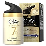 Olay Total Effects 7 en 1, Crema nocturna facial (anti-edad, SPF20, piel seca) - 40 ml.