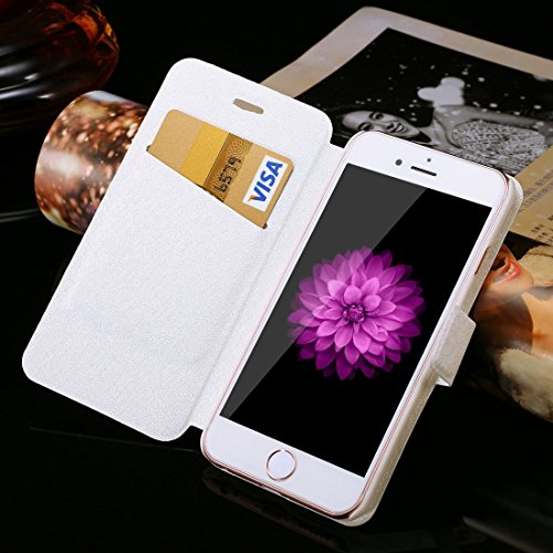 Phone case & Hülle Für IPhone 6 Plus / 6s Plus, Diamant verkrustete Sonnenblume Perle Bell Pattern Horizontale Flip Leder Tasche mit magnetischen Wölbung & Card Slots ( SKU : IP6P1122E ) IP6P1122A