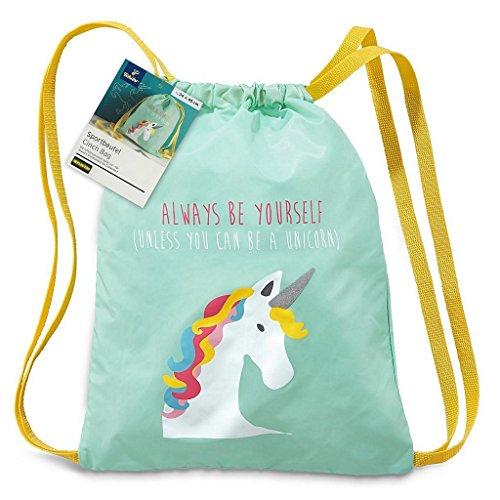 tcm-tchibo-childrens-gym-bag-gym-bag-sports-bag-sports-bag-unicorn-design-or-monster-dessin-einhorn