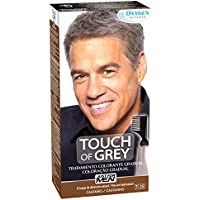JUST FOR MEN Touch of Grey - Tratamiento colorante gradual - Tinte para las canas del