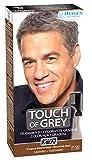 JUST FOR MEN Touch of Grey - Tratamiento colorante gradual - Tinte para las canas del pelo para hombres - castaño - 40 gr