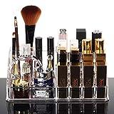 HQdeal Kosmetikorganiser Kosmetik-Organizer Makeup Sortierkasten mit Schubladen Acryl - 3