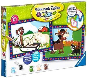 Ravensburger 00.027.779 Kit de Pintura por números Libro y página para Colorear - Libros y páginas para Colorear (Kit de Pintura por números, 2 páginas, Child, Niño/niña, 5 año(s), 7 año(s))