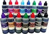 #3: Daytone Fountain Pen Ink 60 Ml. 15 Pc Assorted Pack of 15 Colors