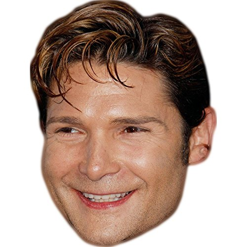 Celebrity Cutouts Corey Feldman Maske aus Karton
