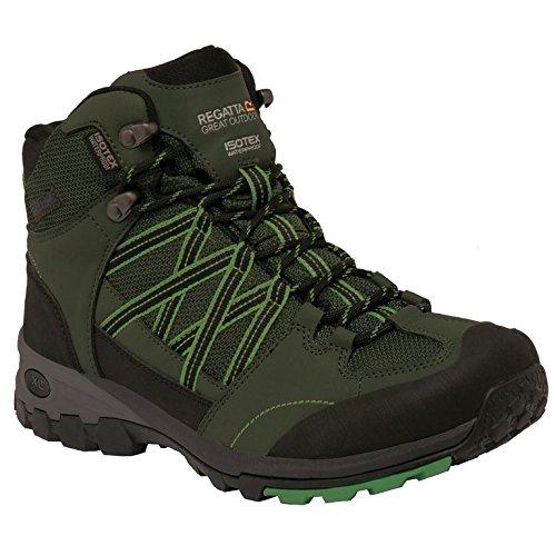 Regatta Samaris Mid, Chaussures de Randonnée Hautes Homme, 40.5 EU Vert (Dkolive/Alpi 2Lv)