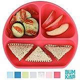Bumkins - Bandeja de silicona rojo rosso Talla:5 Inches