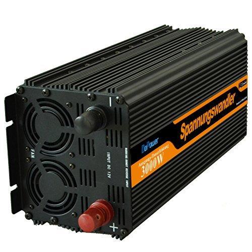 Generic Onduleur 3000 W convertisseur de tension DC 12V à AC 230V onde sinusoïdale modifiée Vente