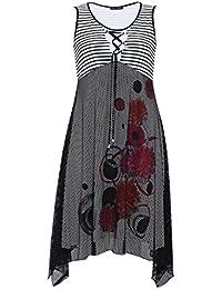 Blee Klum - Robe RIPOUL - Grande Taille - Imprimée - Made in France - Femme