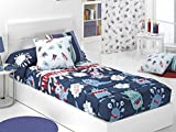 CAÑETE - Edredón Ajustable Monsters Cama 90