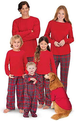 4de9e49ff7 Famiglia Pigiama a Quadri Retro Tartan Style Tuta Natale Travestimenti Pajamas  Set Xmas Sleepwear Costumi da